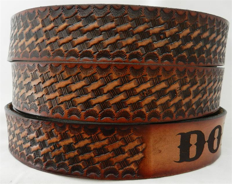 tooled leather belt gavereleather net